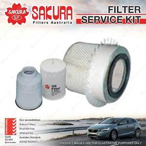 Sakura Oil Air Fuel Filter Service Kit for Daihatsu Rocky F70 F73 F75 F77 F78