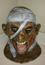 Halloween Mummy Rubber Latex Mask From Caretas Rev S.A 12120 zombie PERFECT!