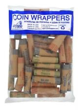 N.F String & Son Crimped Assorted Coin Wrappers - 36 Count
