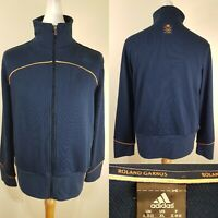 Adidas Men's Navy Blue Roland Garros French Open Tracksuit Top Jacket Size XL