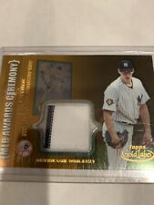 2002 Topps Gold Label Yankees Andy Pettitte Game Used