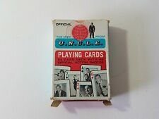 U.N.C.L.E. MAN FROM UNCLE -VINTAGE PLAYING CARDS DECK UK CARTE DA GIOCO SERIE TV
