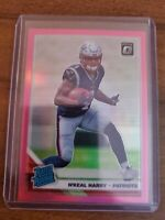 2019 Panini Donruss Optic Pink Prizm Rated Rookie N'Keal Harry!!!