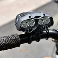 4 LED Bike Bicycle Headlight Flashlight Super Bright USB Charging Riding Light