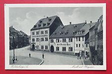 AK WALDENBURG in Sa. um 1930 Markt mit Obergasse   ( 30267