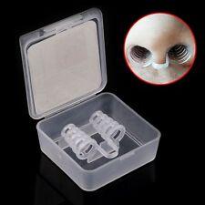 Anti Snore Russamento Dispositivo Plastica Clip Naso Migliora Sonno Non Russare