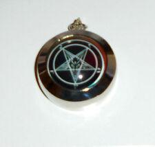 Occult Baphomet Pentagram Pentacle Secret Black Magic Member Necklace Pendant 13
