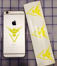 4x Pokemon Go Team INSTINCT Symbol cell phone Laptop Vinyl Decal Sticker GPS