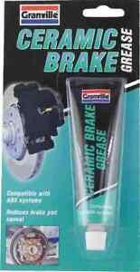 Granville CERAMIC Brake Grease High Temperature ABS Compatible 70g Tube  ceratec