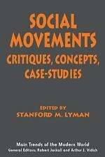 Main Trends of the Modern World: Social Movements Stanford M. Lyman pbk 1995