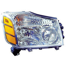 Replacement Headlight Assembly for Armada, Titan (Passenger Side) NI2503154C