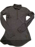 Fits Brand Equestrian Half Zip Women's PullOver  gray horse Riding