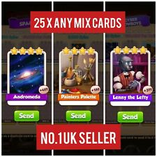 Any 25 x From Andromeda , Painters Palette & Lenny the Lefty ( Get in 5 mins)