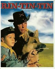LEE AAKER hand-signed RIN TIN TIN color 8x10 authentic w/ coa RUSTY RIP & RINNIE