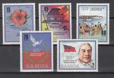 Samoa - Mi.-Nr. 607-611 Unabhängigkeit 1987 - postfrisch