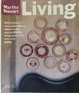 MARTHA STEWART LIVING~VINTAGE & COLLECTIBLE~FEBRUARY 1995~ NUMBER 26