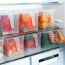 Refrigerator Storage Box Food Container Kitchen Fridge Organizer Freezer Fruit