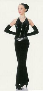 Child Large Tuxedo Dance Costume Tap Jazz LUCK BE A LADY