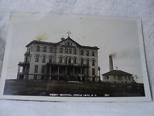 Devil's Lake Nd North Dakota Mercy Hospital 1909 Rppc Postcard