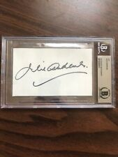 Julie Andrews Signed Autographed Cut Beckett BAS Authentic Mary Poppins