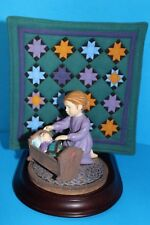 Euc! '93 Ltd Willitts Amish Heritage Collection #30014 Caroline, Girl w/doll
