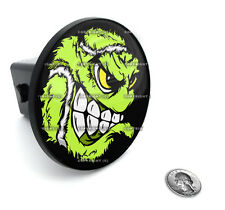 """2"""" Tow Hitch Receiver Plug Cover Insert For SUV's & Trucks - TENNIS BALL SKULL"""