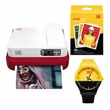 KODAK Smile Classic Digital Instant Camera with Bluetooth (Red) Watch Bundle