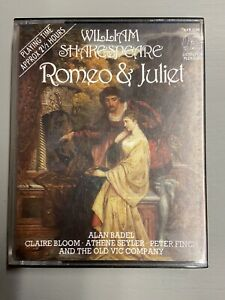William Shakespeare ROMEO & JULIET: 2-Cassette Audiobook