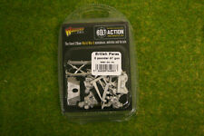British Para 6 Pounder ATG Bolt Action Warlord Games 28mm