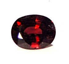 Red Spinel 5.86ct GIA Cert. Oval Brilliant cut untreated