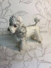 Gorgeous Vintage Pudel Figur / Sammelobjekt Hund Deko Hergestellt IN Japan