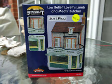Bachmann Scenecraft Low Relief Lovett's Lamb and Meats Butcher Shop 44-284