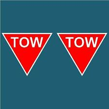 CAMS APPROVED TOW POINT X2 DECAL STICKER SET RALLY DRIFT MOTORSPORT JDM RACING