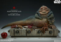 Sideshow - Jabba the Hutt & Throne Deluxe Set - Star Wars - scale Hot Toys