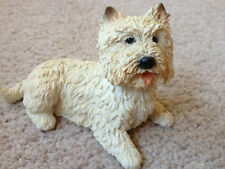 West Highland Terrier / Westie Dog Ornament Figurine Dog used in great condition
