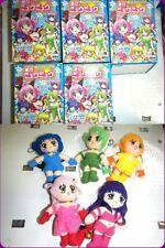 🍓Vintage Tokyo Mew Mew TAKARA CANDY TOY JAPAN Full set plush doll Key Chain🍓