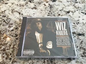 Wiz Khalifa YOUNGIN ON HIS GRIND 4 TRACK PROMO CD Rap PA Trap Hip Hop NEW SEALED