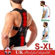 Therapy Posture Corrector Back Shoulder Support Brace Straightener Black