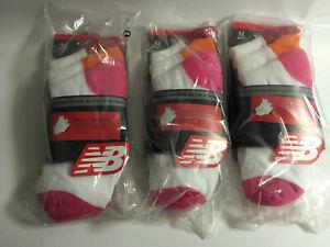 womens ladies girls new balance socks performance elite running 9 pairs