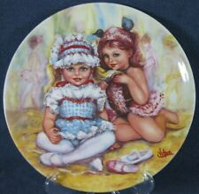 Recital Collector Plate My Memories Mary Vickers Wedgwood Queens Ware