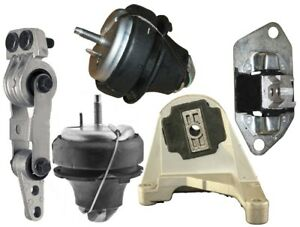 9M1707 5pc Motor Mounts fit 2001 - 2009 Volvo S60 2.3/2.4/2.5L Engine A/T Trans