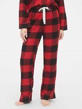 NEW Gap Body Womens Pendleton Flannel Lodge Lounge PJs Pants Plaid Dot XS S M