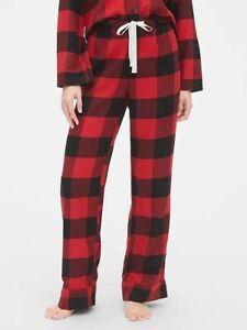 NEW Gap Body Womens Flannel Lodge Lounge PJs Pants Plaid Dot NYC Floral XS S M L