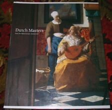 Dutch Masters from the Rijksmuseum Amsterdam BOOK  Art Exhibition Catalogue NGV