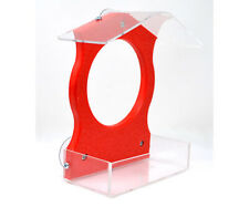 Window Bird Feeder - Red Window Feeder - Serubwfr