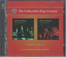 The Collectable King Crimson  2  CD's  VOLUME  THREE   © 2008  /  NEUWERTIG