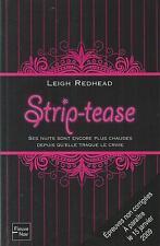 Strip-tease.Leigh REDHEAD.Fleuve Noir.