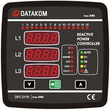 DATAKOM DFC-0115 Power factor controller (12 steps), 144x144mm_