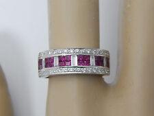 14k LeVian DIAMOND RUBY RING - GORGEOUS