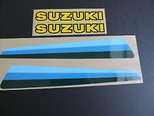 1980 SUZUKI PE 175 Gas Tank Decal Set. AHRMA VINTAGE MOTOCROSS